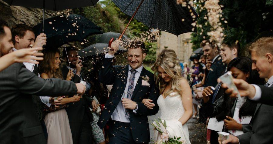 Het grootste multiculturele bruiloftsfeest