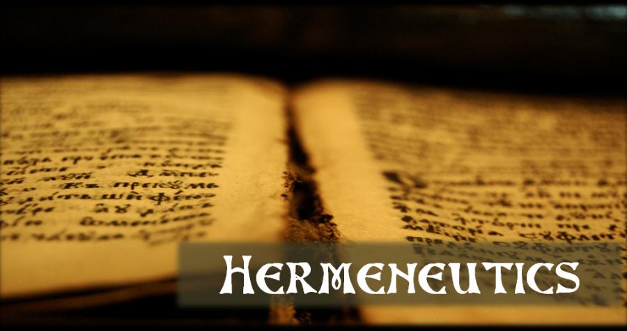 Hermeneutiek: velden en principes van exegese