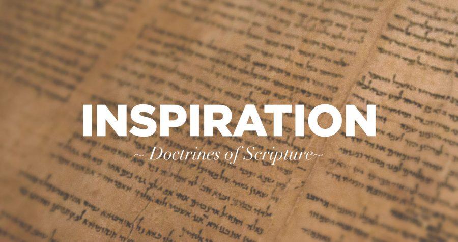 De inspiratie van de Schrift